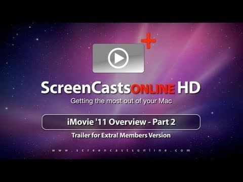 Trailer for SCO0278 - iMovie 11 Overview - Part 2