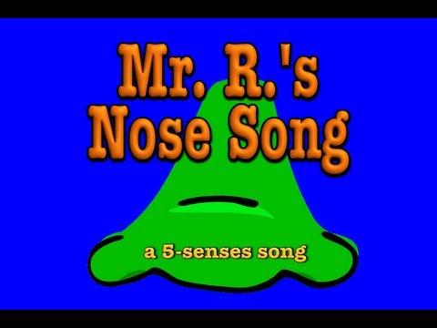 noses! A 5-senses song