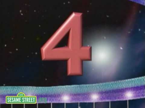 Sesame Street: The Number 4 Song