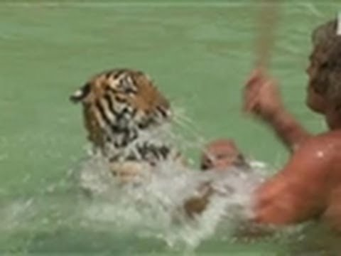 Tarzan Plays With Pet Tiger | Fatal Attractions