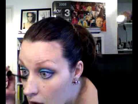 Sophie Ellis Bextor inspired MAC Sky Blue Paintstick Eyeshadow