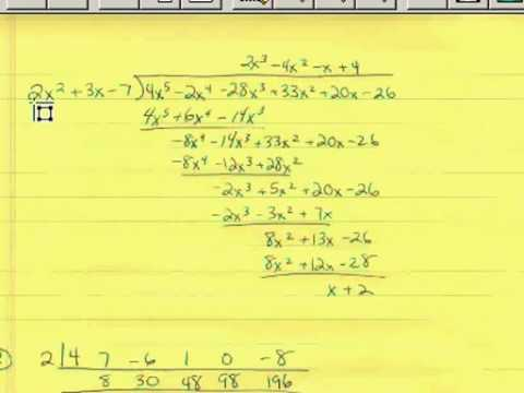 Polynomial Division 1