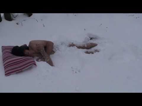 Things to do in the Snow pt1, Snow sleeping