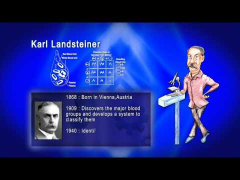 Top 100 Greatest Scientist in History For Kids(Preschool) - KARL LANDSTEINER