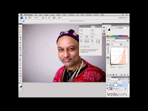 Photoshop: Color-correcting medium-dark skin tones: Male | lynda.com