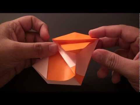 Origami Daily - 123: Chinese Zodiac Monkey - TCGames [HD]