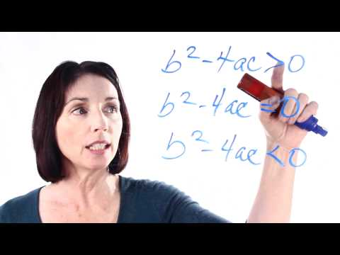 The Quadratic Formula: How to Use the Discriminant