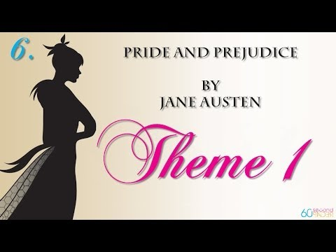 Pride and Prejudice by Jane Austen -- THEME/1 -- from 60second Recap®