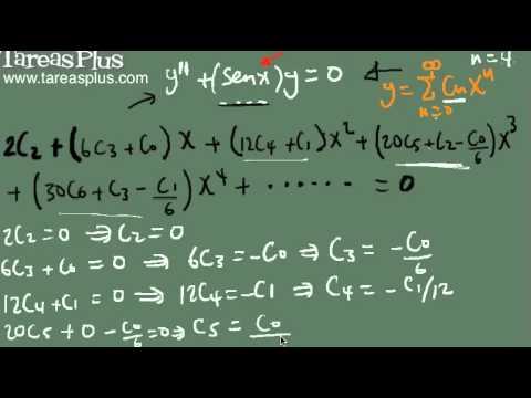 Solución ED con coeficientes variables no polinomiales parte 2