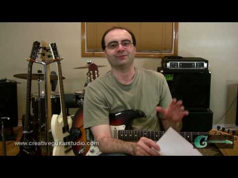 RHYTHM GUITAR: Variations on the 8 Bar Blues