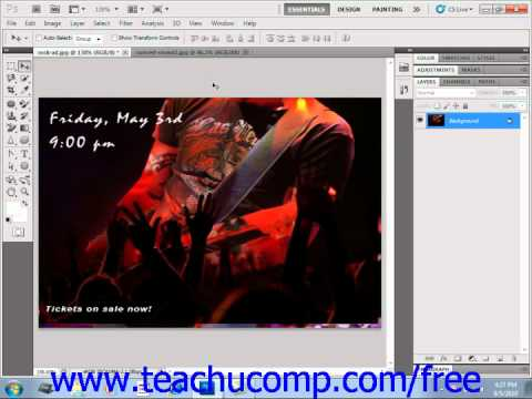 Photoshop CS5 Tutorial Printing Images Adobe Training Lesson 16.1