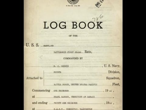 Pearl Harbor Deck Logs and Witnesses