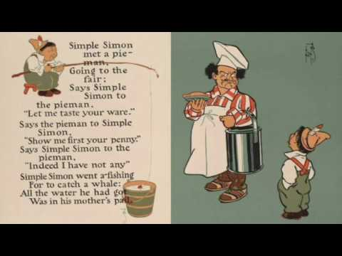 Simple Simon  English language nursery rhyme.