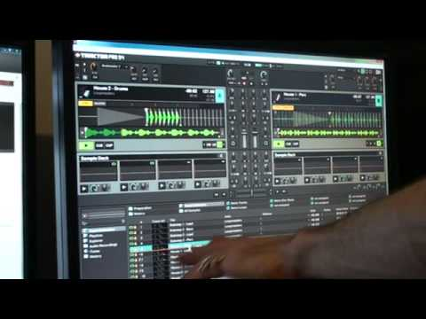 Traktor Kontrol S4 from Native Instruments Video 3, Mess about with samples