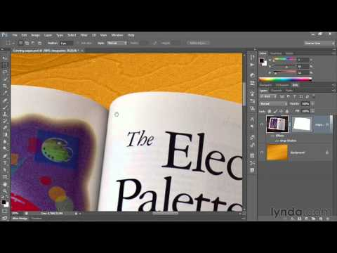 Photoshop tutorial: Converting a path outline to a vector mask | lynda.com