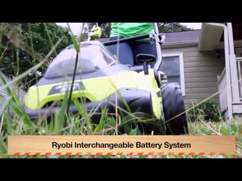 Ryobi 40 Volt Outdoor Series Tames Overgrown Yard