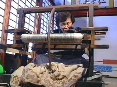Ojiya-chijimi, Echigo-jofu: techniques of making ramie fabric in Uonuma region, Niigata Prefecture
