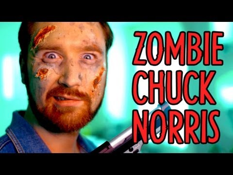 Zombie Chuck Norris Takes Over Indy News!