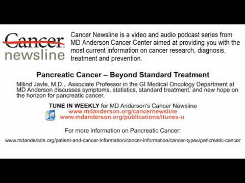 Pancreatic Cancer -- Beyond Standard Treatment