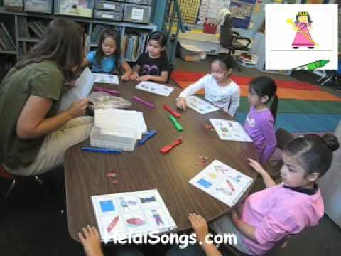 Rhyming Word Bingo Activity