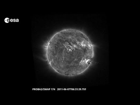 Proba-2 views M2.5-class solar flare on 7 June 2011