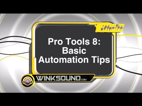 Pro Tools: Basic Automation Tips | WinkSound