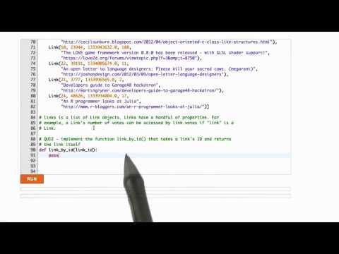 Querying Links - CS253 Unit 3 - Udacity