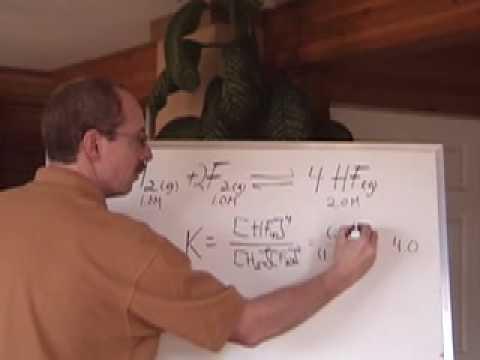 Senior Chemistry: Equilibrium 4