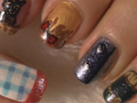 Wizard of Oz Inspired Nail Art Tutorial / Arte para las uñas estilo Mago de Oz