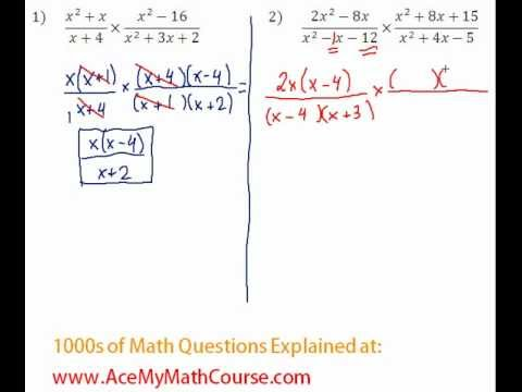 Rationals - Multiplying & Dividing Rationals Question #2
