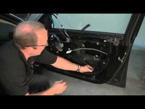 Removing BMW Door Panel & Replacing Window Regulator