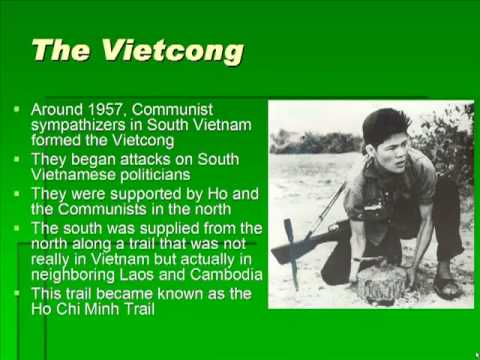 Schmidt Notes - US History - Unit 7 - Moving Toward Conflict in Vietnam (Chapter 22.1)