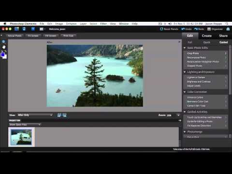 Photoshop Elements 9 Workshop with Jason Hoppe: Introduction