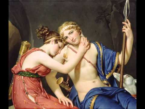 The Farewell of Telemachus and Eucharis, Jacques-Louis David