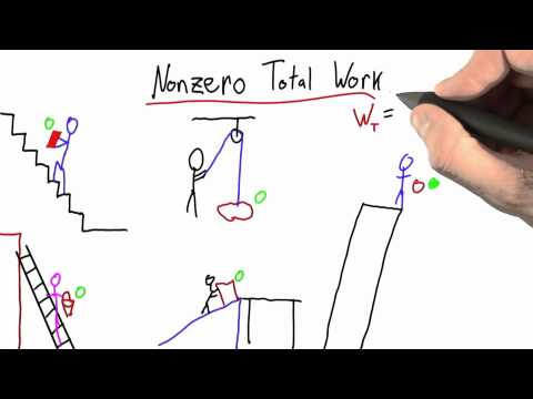 Nonzero Total Work Solution - Intro to Physics - Work and Energy - Udacity