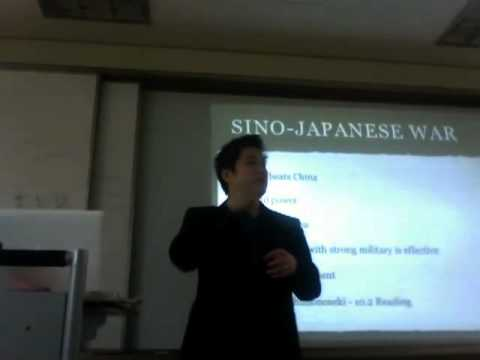 Sino-Japanese and Russo-Japanese War Lecture Part 1/5