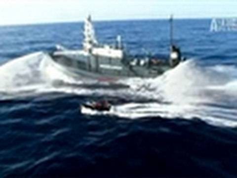 Whale Wars- Attacked by Mystery Weapon
