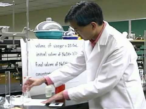 Titrations, Part 2 of 2, A Chemistry Lab Demo From Thinkwell