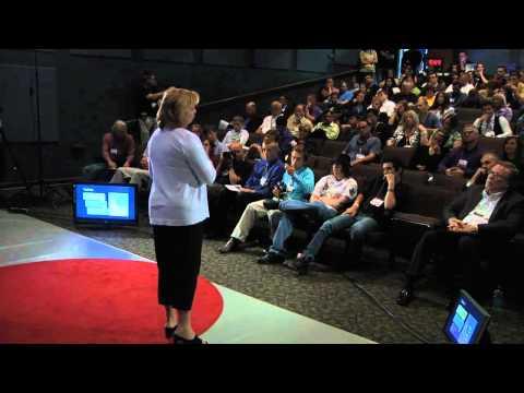 TEDxFortWayne Riley Johnson and Ginger Giessler RETHINKing Education