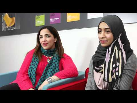Studying on the University English course at Oxford Brookes International