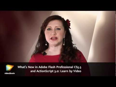What's New in Adobe Flash Professional CS5.5 and ActionScript 3.0: Learn by Video Trailer