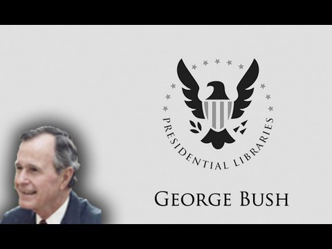 The George Bush Presidential Library - Warren Finch