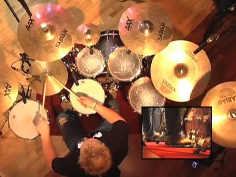 Rock Drum Play-Along #4 - Drum Lessons