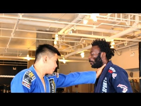 Self Defense: Throat Grab | Brazilian Jiu Jitsu