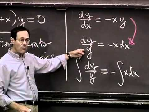 Saylor MA102: Differential Equations, Separation of Variables