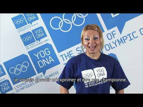 Young Ambassador - Ukraine - Irina Merlini - Singapore 2010 Youth Olympic Games