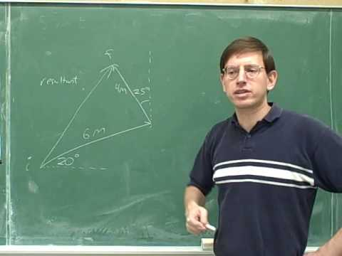 Physics: Vector components (3)