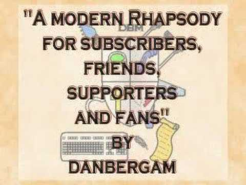 Symphonic Music - Rhapsody for Subscribers and Friends - *original* by danbergam