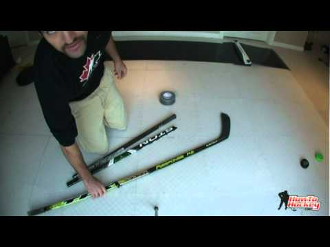 What to do with Broken Hockey Sticks