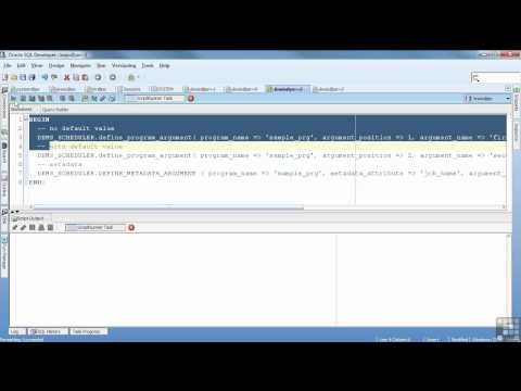 Oracle 11G Tutorial | DBMS Scheduler | InfiniteSkills Training